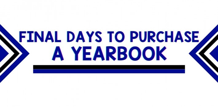 Final Days to Purchase a Yearbook
